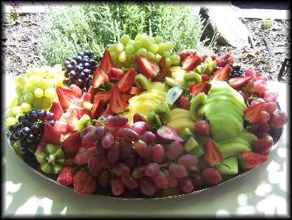 Platters Fruit Dulled