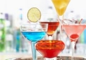 Colourful Cocktails