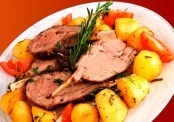 Roasted Beef and Potatoes