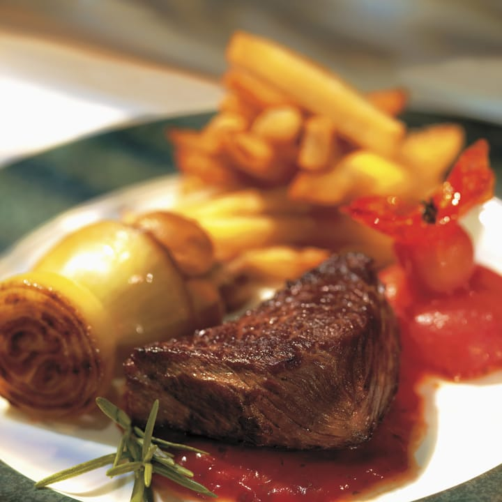 Roasted Beef and Chips