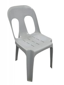 alfreco grey plastic chair for hire