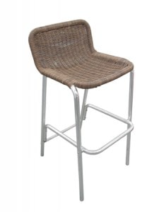 bar stool wicker for hire