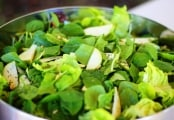 Green Leaf and Pear Salad