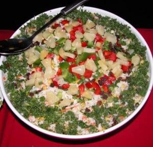 Tropical Hawaiian Rice Salad