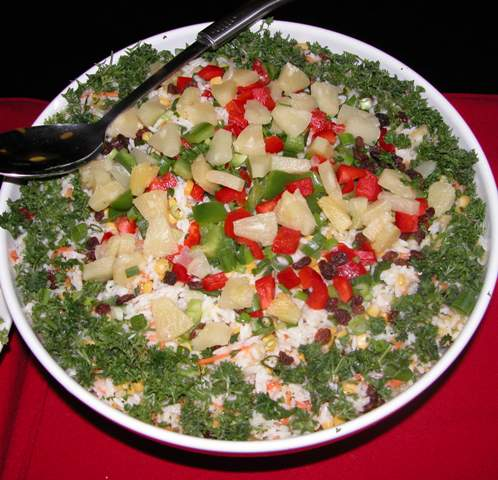 SALADS Hawaiian Rice